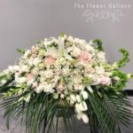 Casket Spray in Light Pink