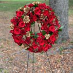 Red/Gold Wreath